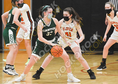 Oliver Ames - Canton Girls Basketball 1-28-21