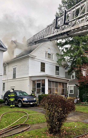 House fire - Post Avenue Rochester, NY - 11/26/20