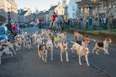 New Years Day Hunt Meet, Duke of Buccleuch