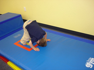 Lincoln's tricks at the Little Gym
