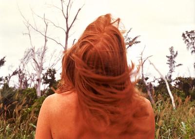 Redhead at the Beach