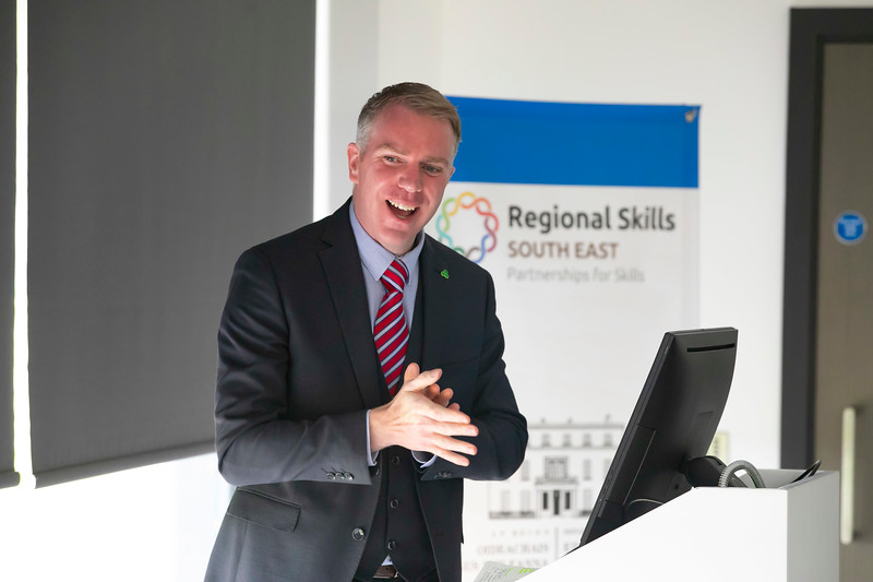 20/06/2019. Engineered for success. Industry leaders launch cluster to promote engineering in South East.  Engineering the South East was launched in Wexford this morning with a mission to see companies working together to address skills needs, promote careers in engineering and advance the engineering capabilities of the region. Pictured is Brendan McDonald of IDA Ireland. Picture: Patrick Browne