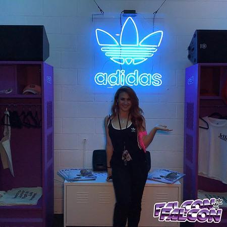 Adidas Originals Falcon LA Pop-Up Day 2 Photos