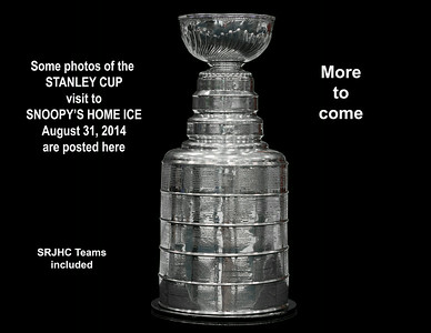 Stanley Cup at Snoopy's Home Ice