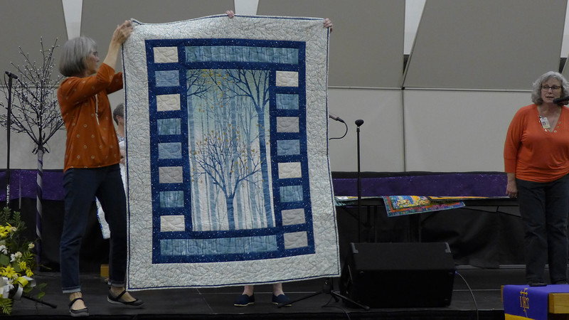 A quilt by Renee Fisher