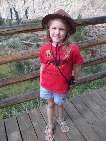 Kelly on Colorado Trip