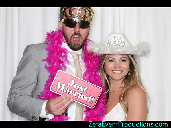 Jackie & Austin Wedding Photo Booth pictures