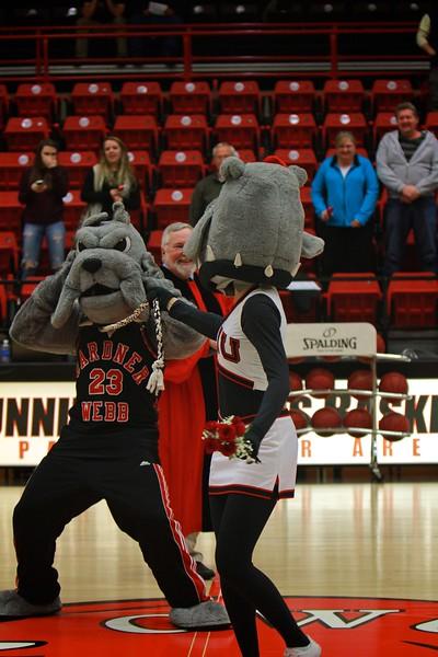 The Marriage of Mack and Lulu Bulldog; Gardner-Webb Mascots.