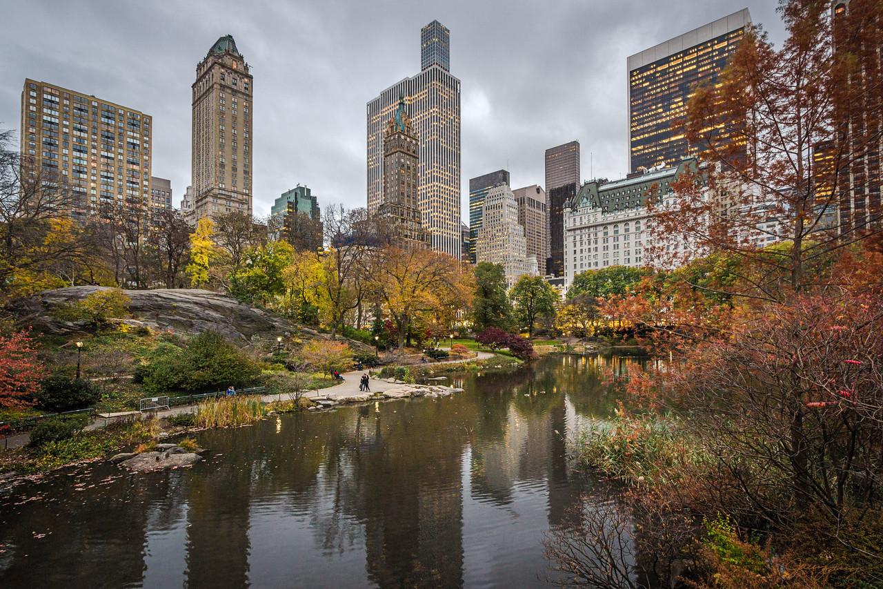 Autumn on the Pond II