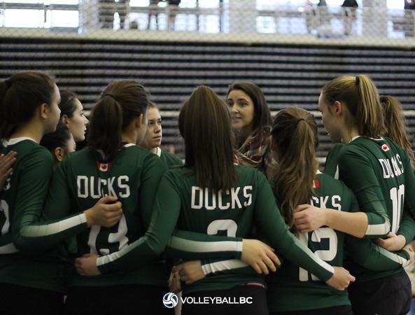 2018 15U Girls Okanagan Super Volley