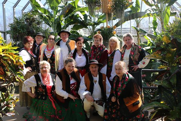 Koło Literacko - Dramatyczne w ogrodzie botanicznym Chicago