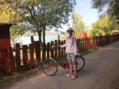 2019.09.22. Tihany-Sajkod-Tihany kerékpáron
