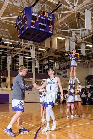Broughton boys varsity basketball vs. Leesville. January 8, 2019. 750_1689