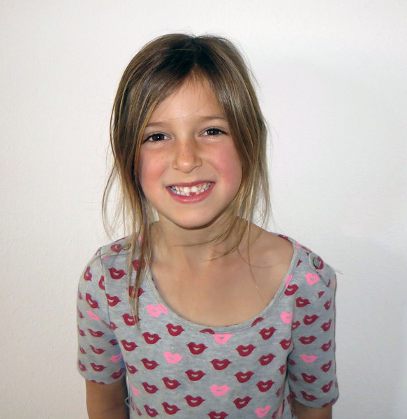 Hazel, minus one tooth