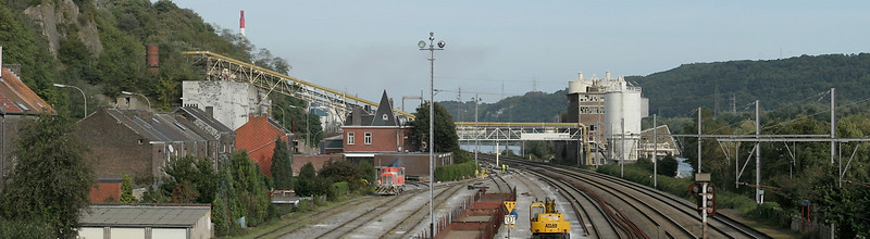 The Wautier limestone works at Hermalle s/Huy on the L40.