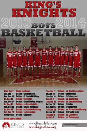 Boys Basketball 13-14