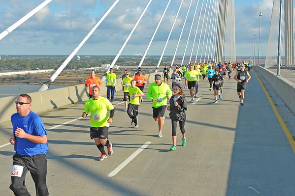 Bridge Run Sidney Lanier Bridge 2014