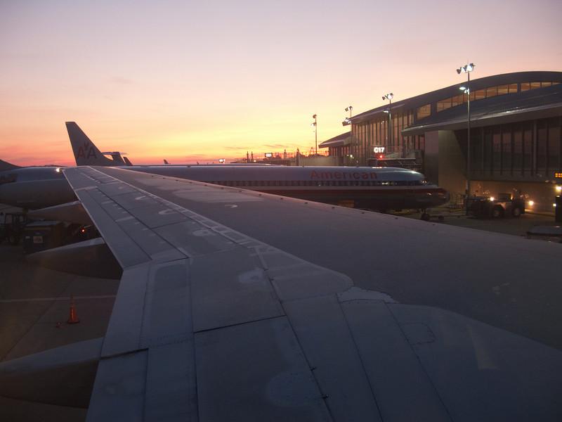Sunrise at RDU