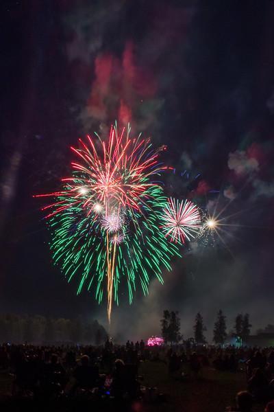 Milton Fireworks 2016