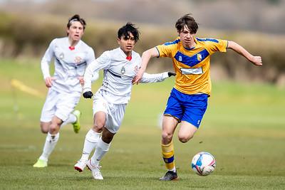 Mansfield U18s vs Garuda Select XI 06-04-2021