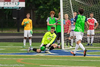Boys Soccer Practice