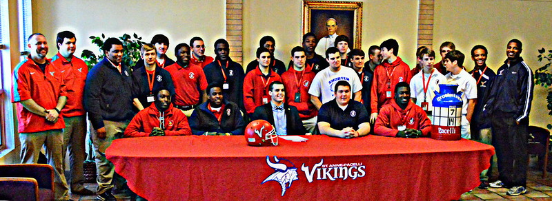 2014 National Signing Day - Vikings