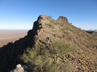 New Water Mtns, Peak 2839 - Dec. 5, 2020