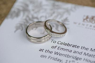 Emma & Matt Wedding 11th August 2017 - Previews