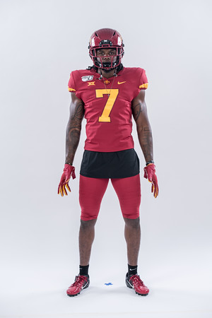 ISU Football photoshoot 07/19/19