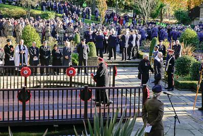 Blackburn Remembrance Sunday 2017