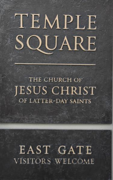 Thur., May 11, 2017 ~~ Temple Square, Salt Lake City, Utah
