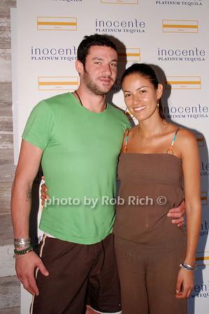 Sam Talbot and Paula Guerrero