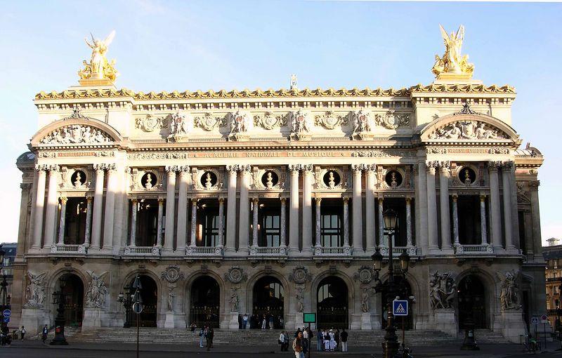 front view of Opéra Garnier