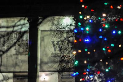 Main Christmas Lights & Banners