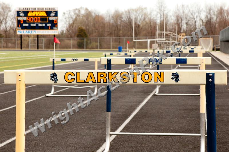 2012 Clarkston Track