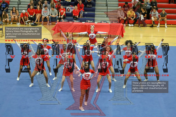 Gar-Field Girls Varsity Cheerleading Competition 9-26-18