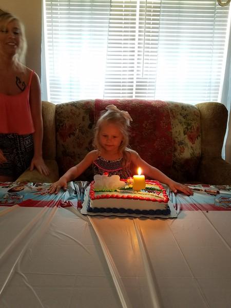 Ava's 4rh birthday