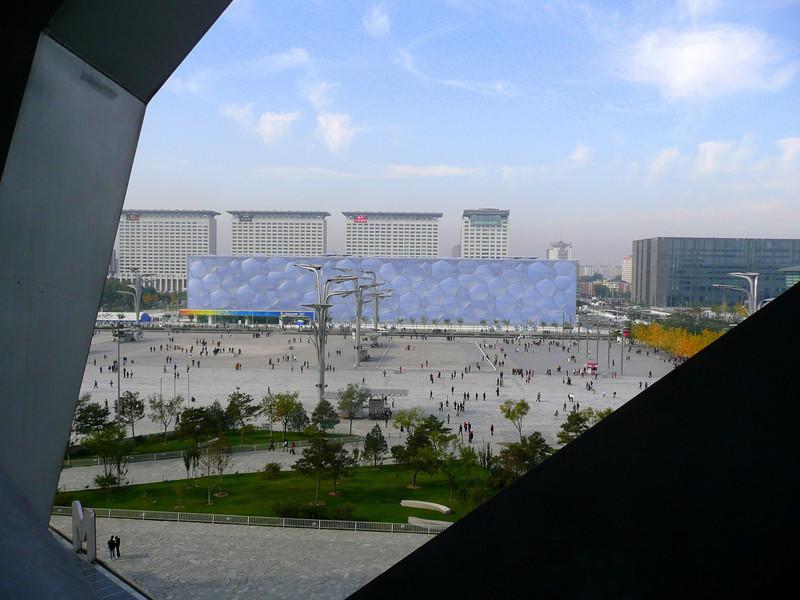 The Olympic Pool from Beijing BirdNest Olympic Stadium , 2010