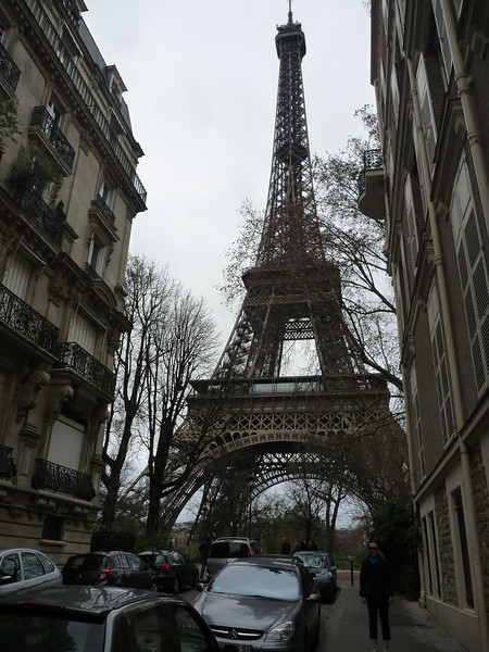 Day 8 (Paris): We headed back to the Eiffel Tower in the morning