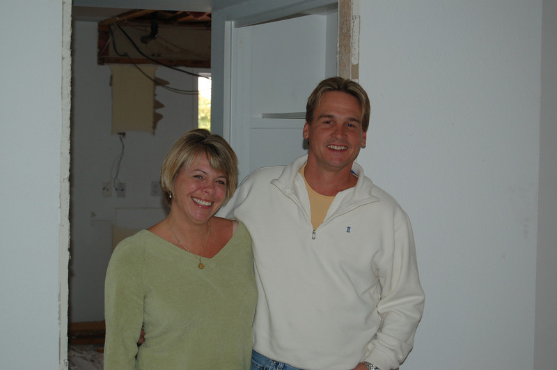 Jill and Tom, our general contractor.