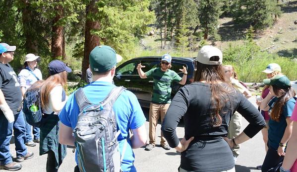 UNAVCO Intern Rocky Mountain Field Trip