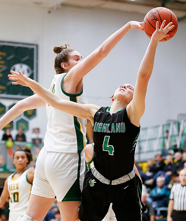Lindsey Linard flirts with triple-double in Medina win over Highland