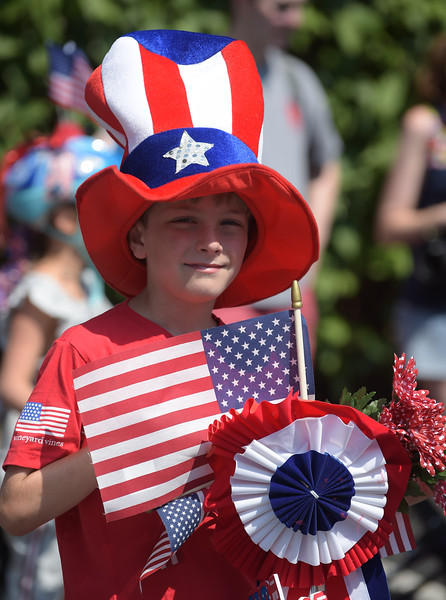 Garrett Hill - Rosemont July 4th parade