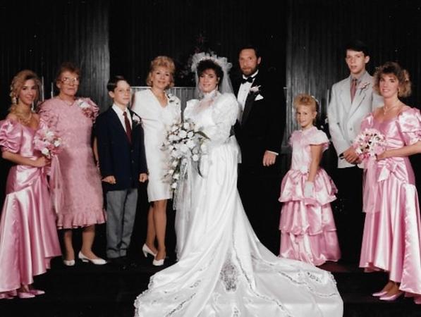 Trish's Wedding 1992