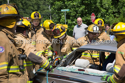 Constitution Blvd. Extrication (Shelton, CT) 7/17/13