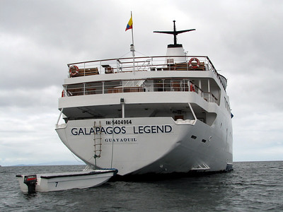 Baltra Island & the Galapagos Legend