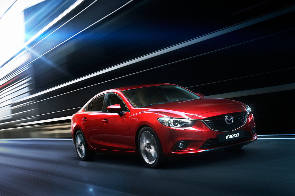 . All-New 2014 Mazda6 to Headline Mazda\'s LA Auto Show Debuts.  (PRNewsFoto/Mazda North American Operations)