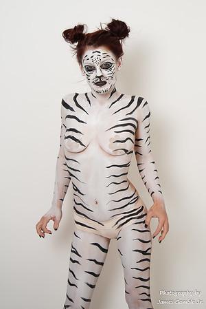 Zebra-Lady