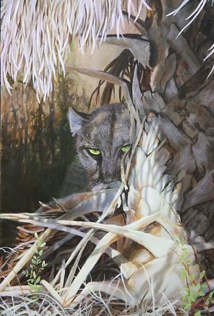 """""""Hidden"""" (acrylic) by Debi Davis"""