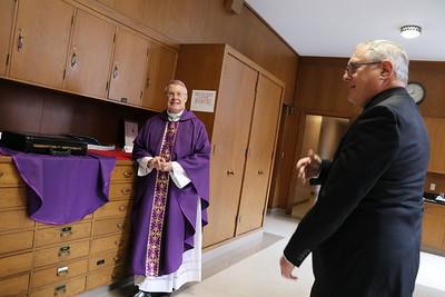 Bishop Tobin's 25th Anniversary Mass